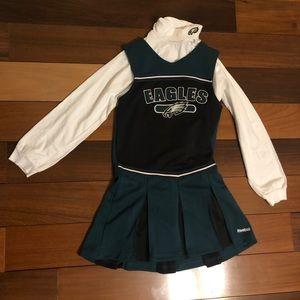 Philadelphia Eagles Girls Cheerleading uniform